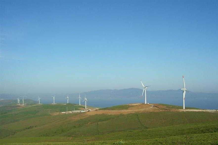 The EBRD's fund supported the 145MW Bares wind project in Turkey