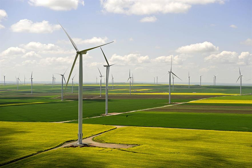 The 2GW Wind Catcher site will use 800 of GE's 2.5MW turbines