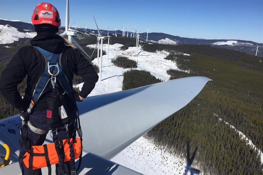 GE believes its system will reduce the need for up-tower inspections (pic: Kristen Hough)