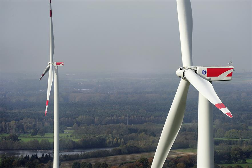 GE Renewables said it would deliver 3,050 wind turbines in 2016