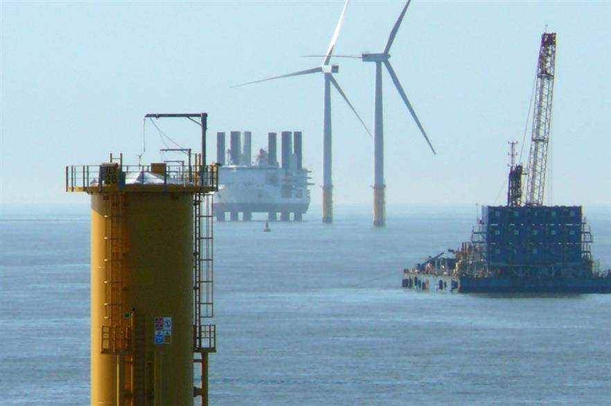 Europe's offshore wind industry is targeting an LCOE of €80/MWh by 2025