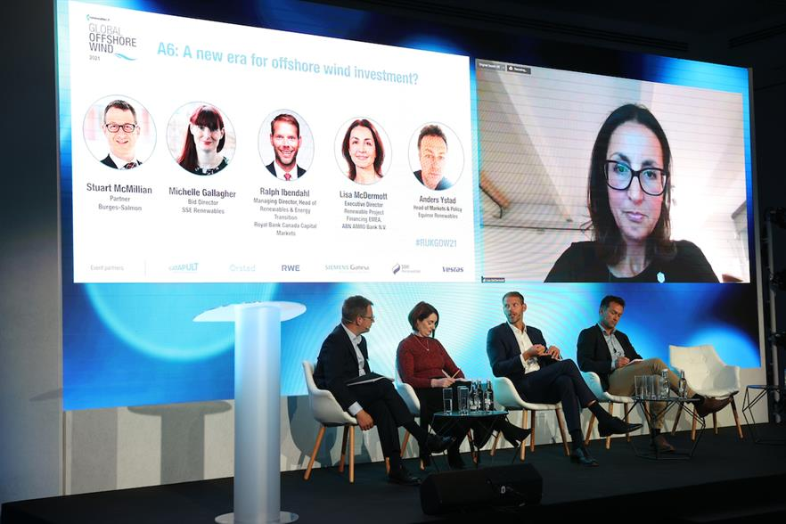 A new era for offshore wind investment? panellists spoke about disruption to project financing in the sector