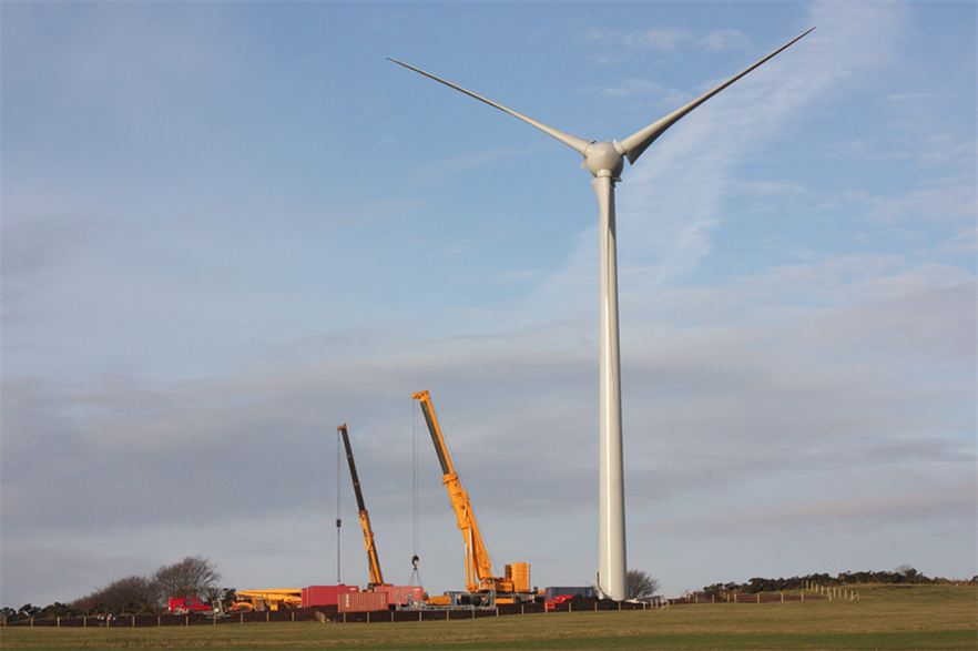 Gaelectric's 13.8MW Carn Hill project was completed in 2013