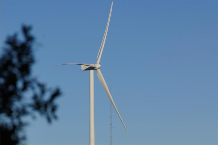 Gamesa's As Samsozas facility produces blades for its G114 turbines