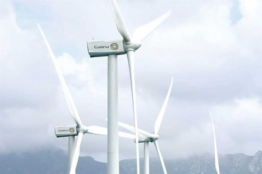The Gamesa 2MW turbine will be used on the floating platform