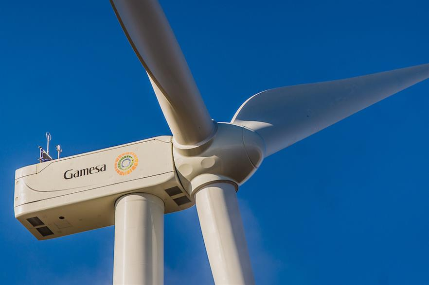 Siemens Gamesa's G132-3.465MW is aimed at medium and medium-low wind-speed sites