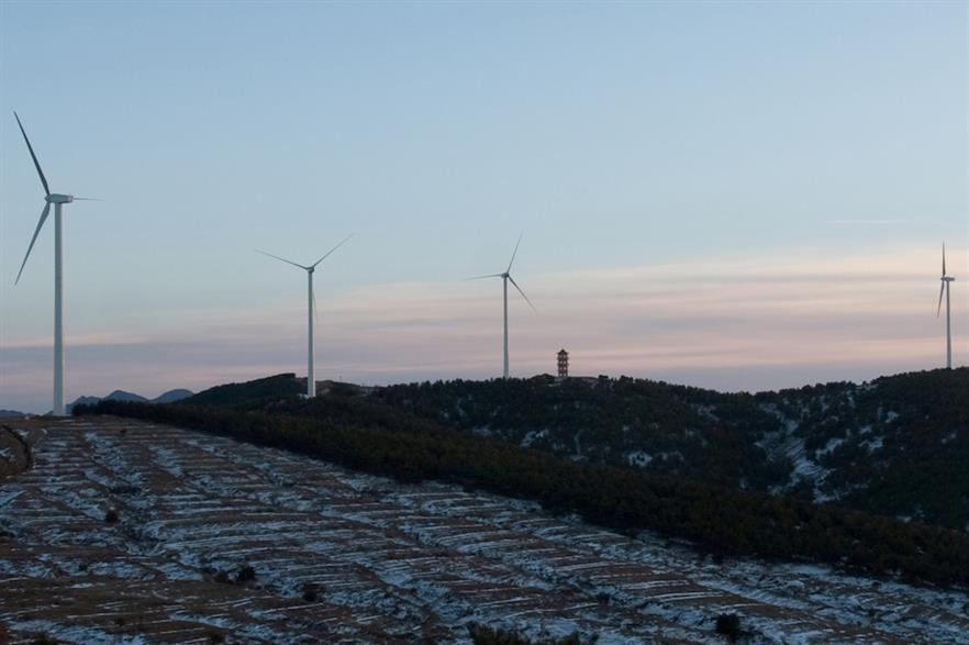 The 45.4GW that was likely installed and connected in 2020 is still a record year for annual growth in China (pic credit: Gamesa)