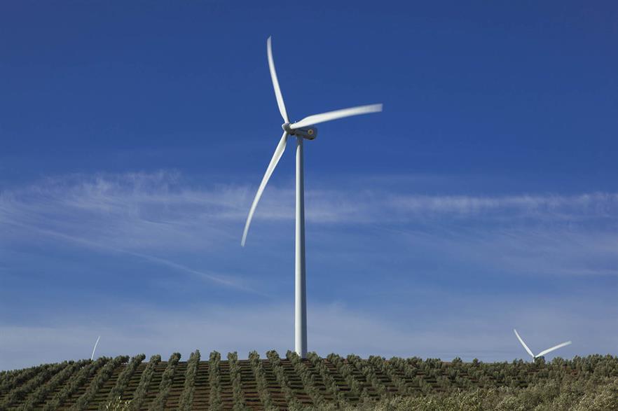 Gamesa's G90 turbine was one of six turbines named in the dispute