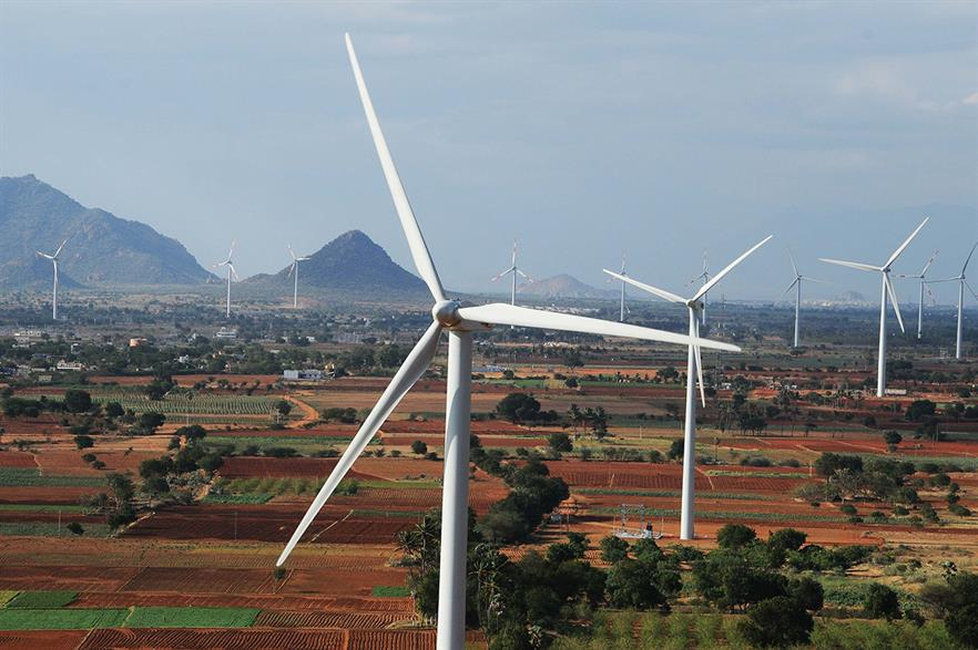 Gamesa is a leading supplier of turbines in India