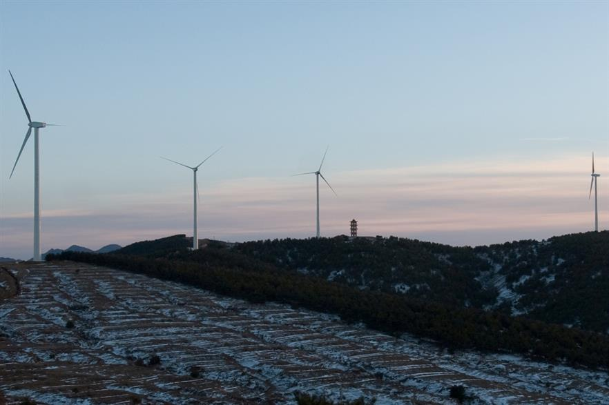 Gamesa has secured 350MW in orders from China in 2014