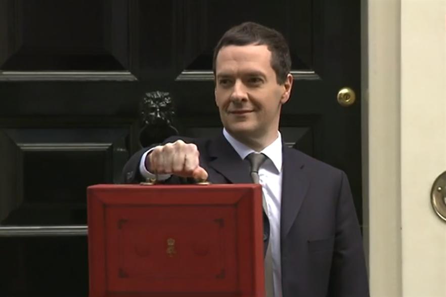 "Chancellor George Osborne's budget ""woefully shortsighted"" says RenewableUK"