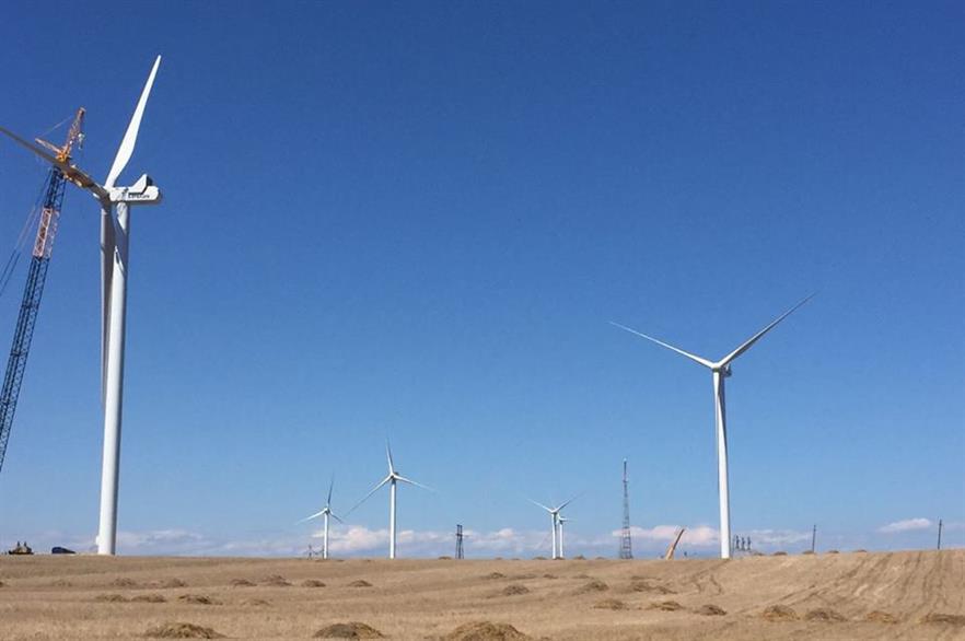 Georgia's first wind project, the 20.7MW Qartli site