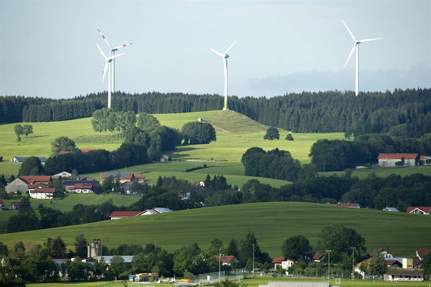 Germany's federal energy regulator held four onshore wind tenders in 2018 (pic credit: Siemens Gamesa)