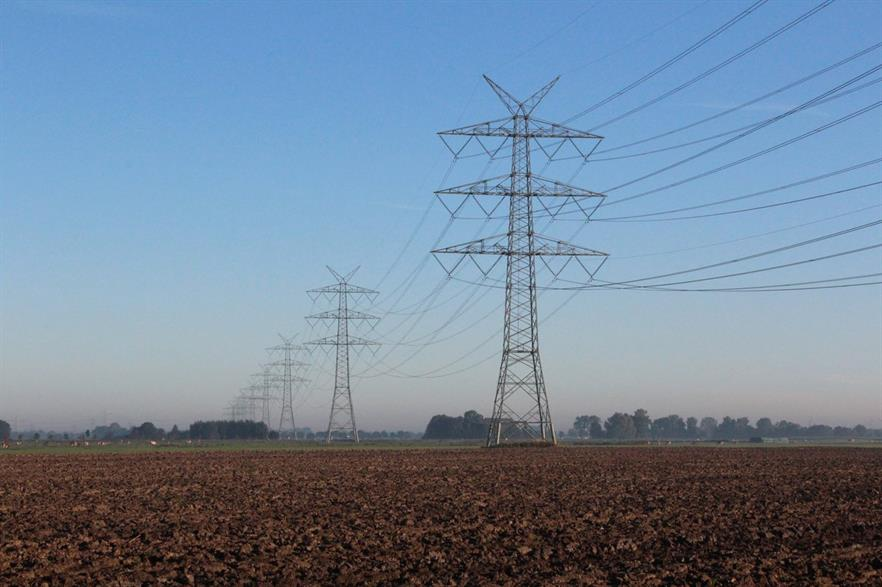 Germany's grid has struggled to keep up with the growth of renewables, causing bottlenecks (pic: Tennet)
