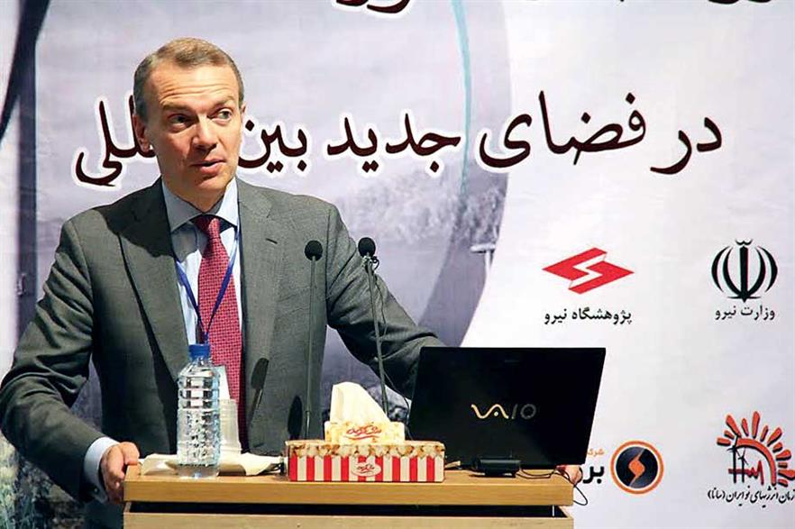 Giles Dickson: European firms ready to invest in Iranian wind