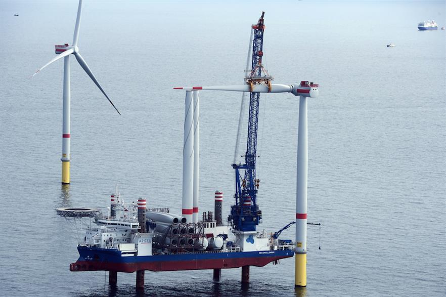 Ørsted plans to install 20GW of offshore wind and onshore wind by 2025 - up from the 7.6GW it has today, according to Windpower Intelligence.