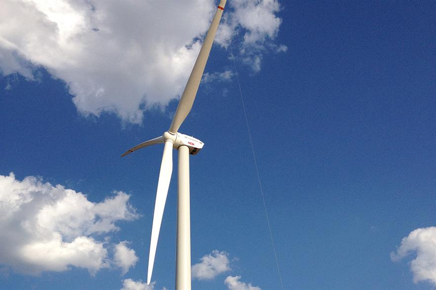 Goldwind topped the rankings of turbine installations, according to BNEF and FTI data