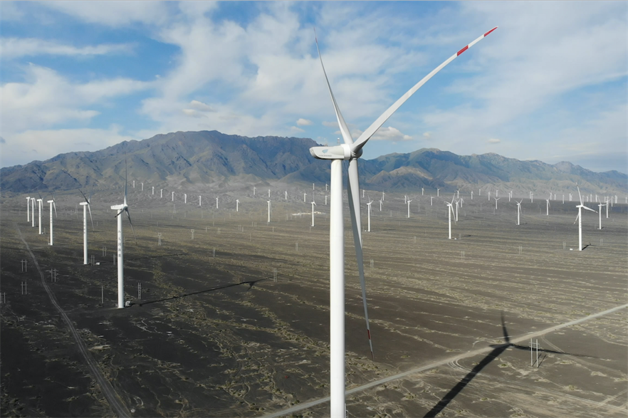 Goldwind will supply its GW 155-4.5MW and GW 155-4.8MW turbines for the two wind farms