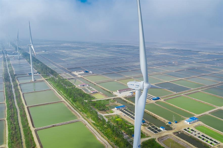 China led the way in 2020 as developers scrambled to install projects before the country's feed-in tariff for onshore wind expired at the end of the year (pic credit: Goldwind)