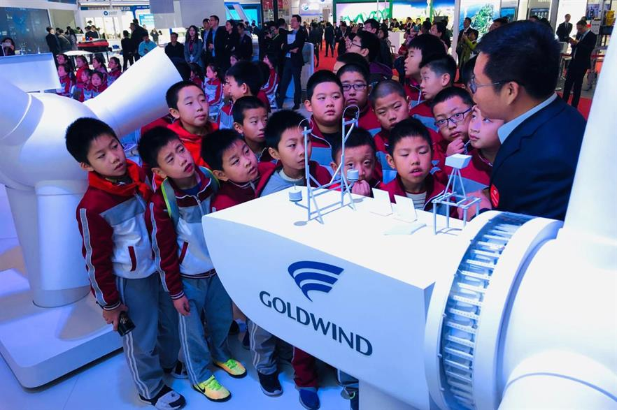 Goldwind released two new turbine models to the market at the China Wind Power conference and exhibition in Beijing
