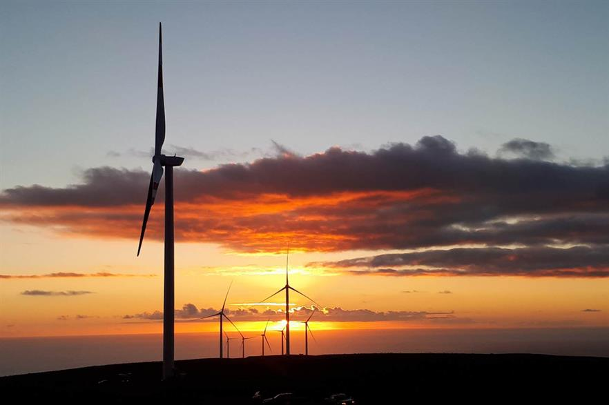 Chile has a little over 1.7GW of installed wind capacity (pic: Goldwind)