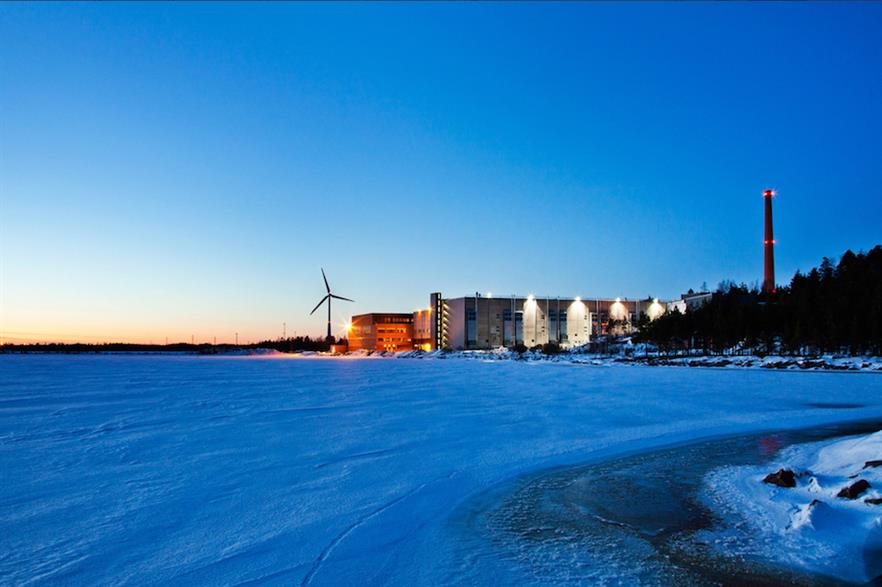 Google's data centre in Hamina (pic credit: Wilo Group, which provided the centre's cooling system)