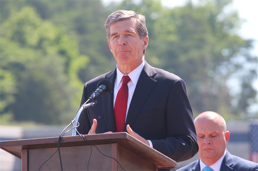 Governor Roy Cooper's executive order set North Carolina has set offshore wind targets of 2.8GW by 2030 and 8GW by 2040 (pic: NCDOTcommunications)