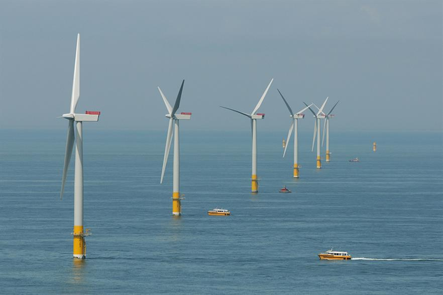 The 450GW target would require a more-than 20-fold increase from Europe's offshore wind fleet today (pic credit: RWE)