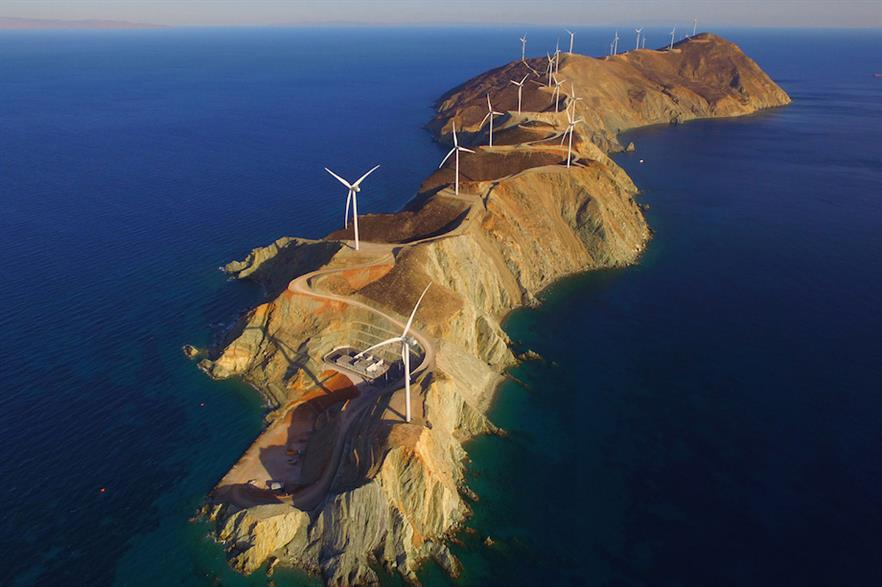 Greece has just over 3GW of operational onshore wind capacity, according to Windpower intelligence (pic: Mario Zangas)