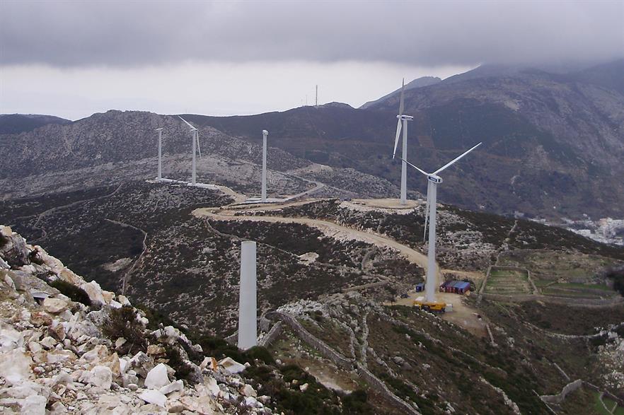 Vestas said it has installed 1.3GW of wind capacity in Greece