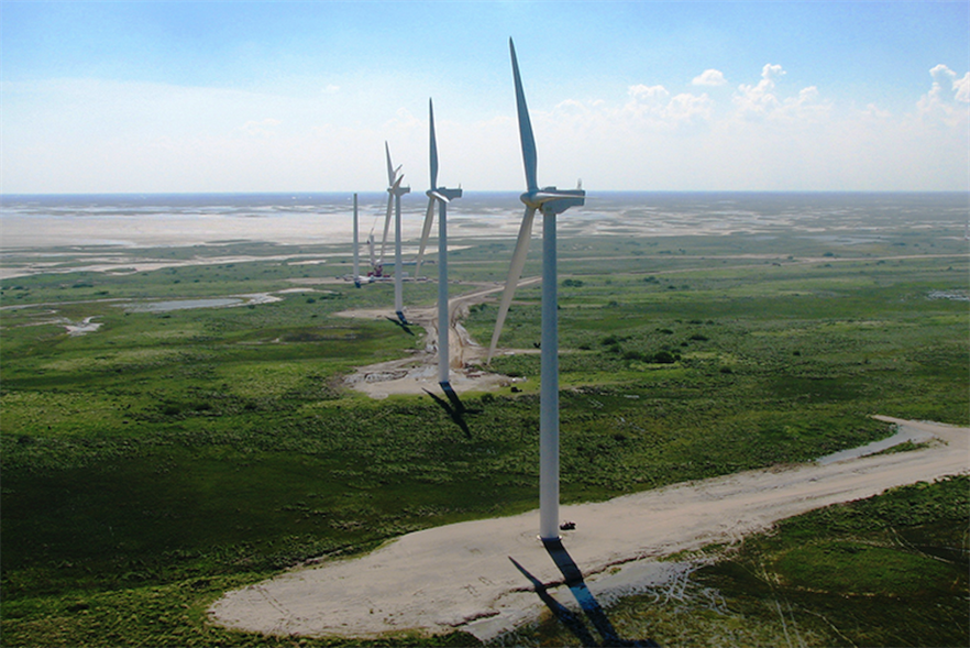 Texas' 12,000-plus wind turbines, including those at Pattern's Gulf Wind project, were not damaged by Hurricane Harvey