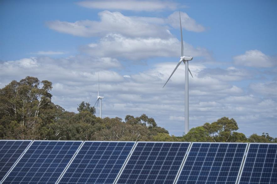 Wind and solar will play dominant roles in Australia's generation over the next two decades, according to the AEMO's draft plan (pic: Arena)