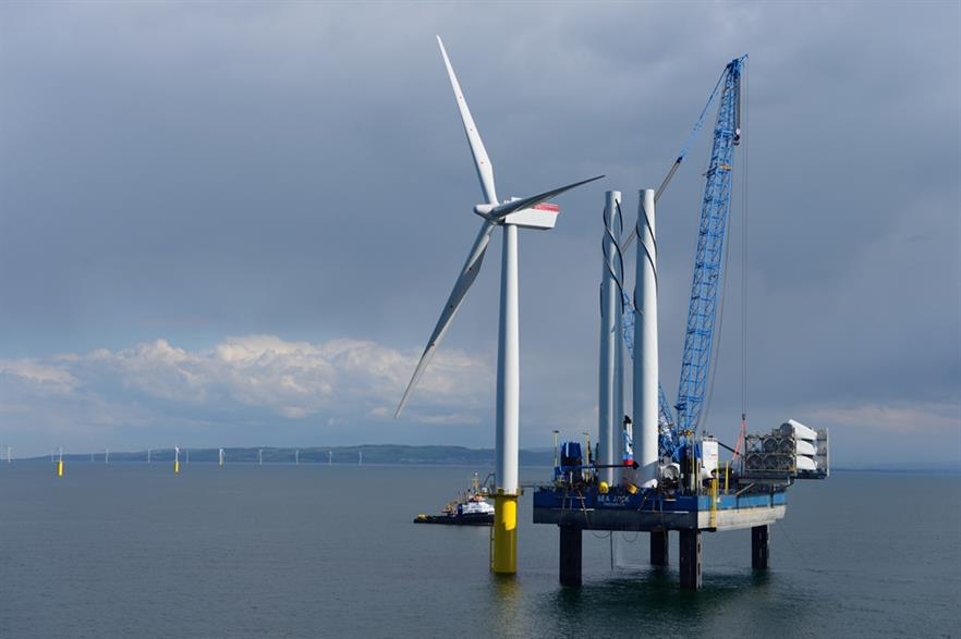 GIB invested in the Gwynt y Mor offshore project