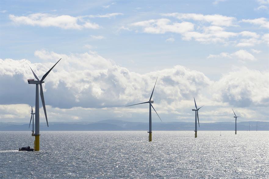 Innogy owns a 60% stake in the 576MW Gwynt y Môr wind farm off the coast of North Wales