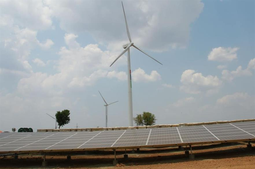 Hero Future Energies added 28.8MW of solar PV to its 50MW wind site in Karnataka in April
