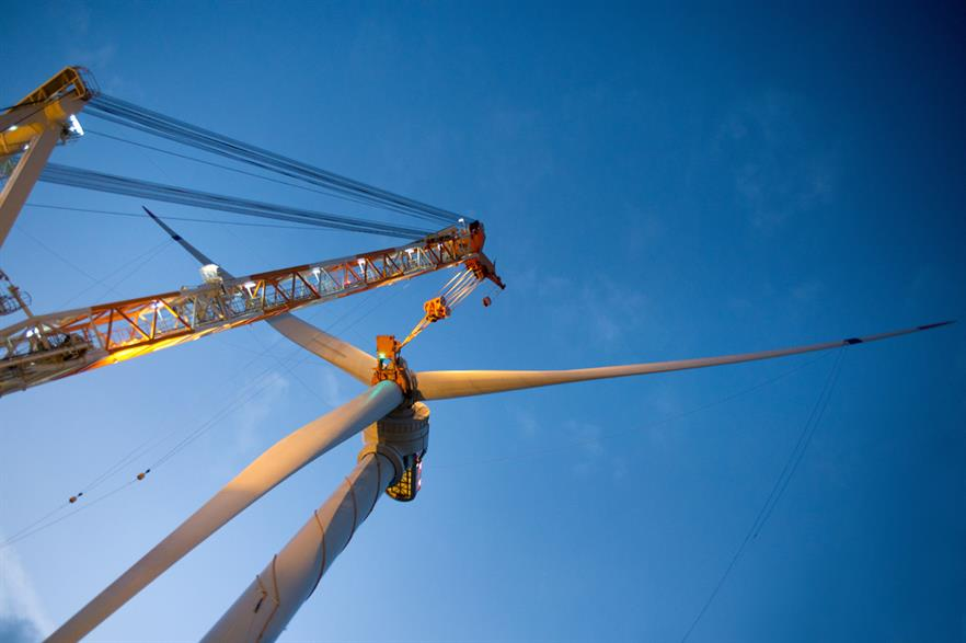 EDF's French projects are expected to use GE's 6MW Haliade turbine