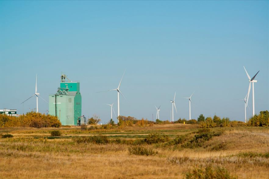 Greengate Power developed the 150MW Halkirk project, now owned by Capital Power Corporation
