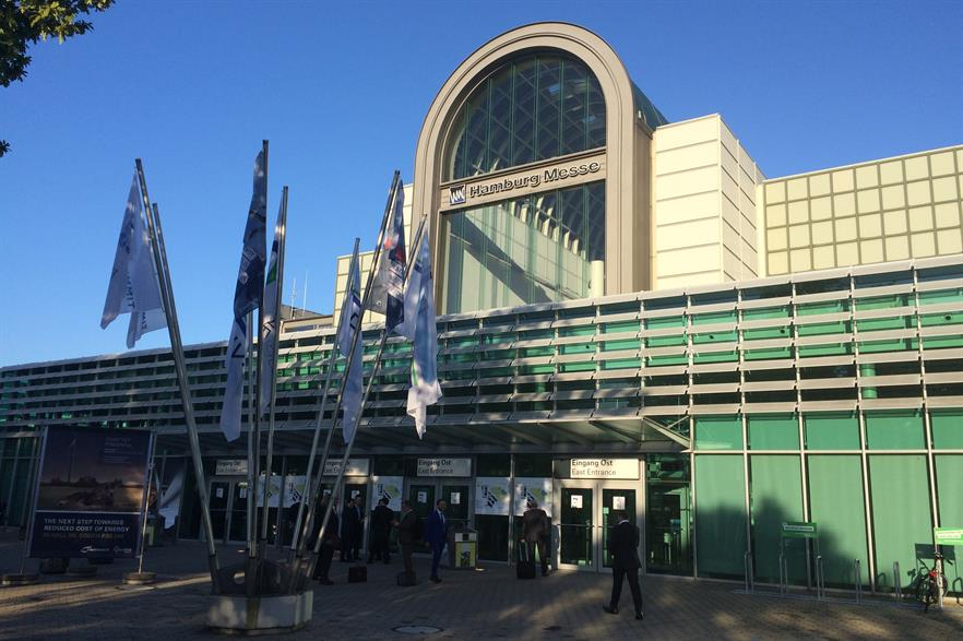 Hamburg Messe: venue for Europe's biggest wind power event of the year