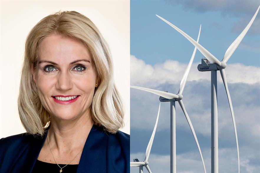 Former Danish prime minister Helle Thorning-Schmidt is nominated for a board position at Vestas (left pic: Steen Brogaard)