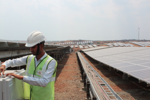 Hero Future Energies added a 28.8MW solar project to its 50MW wind site in Karnataka