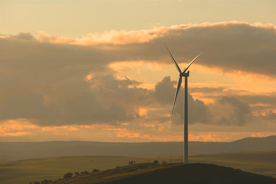 Hornsdale comprises Siemens 3.2MW turbines