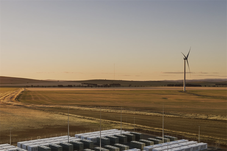 Neoen operates the 150MW/193.5MWh Tesla battery that is co-located with the 315MW Hornsdale wind farm in South Australia