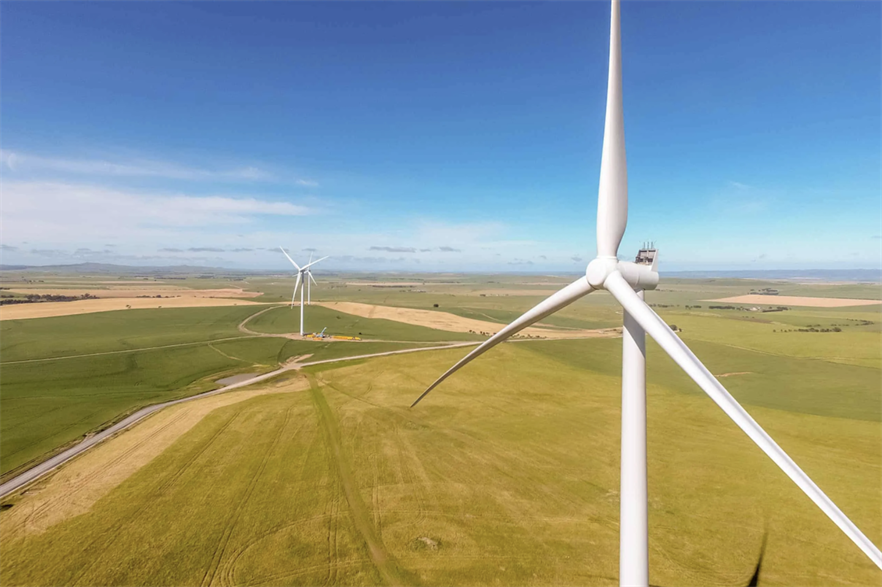 Pacific Hydro and Neoen were fined for not complying with regulations at their Clements Gap and Hornsdale (above) wind farms respectively