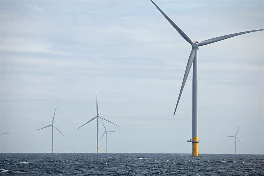 The UK is still the global leader in offshore wind, with operating projects including Ørsted's 1.2GW Hornsea One