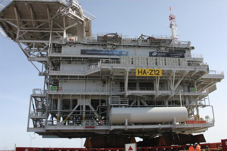Three offshore sub stations are included in the transmission asset sale for Hornsea One