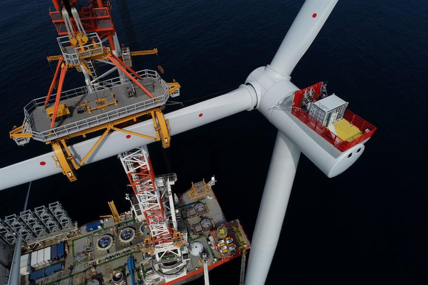 Siemens Gamesa attributed its increases in revenue and earnings to solid performances in its offshore and services business units