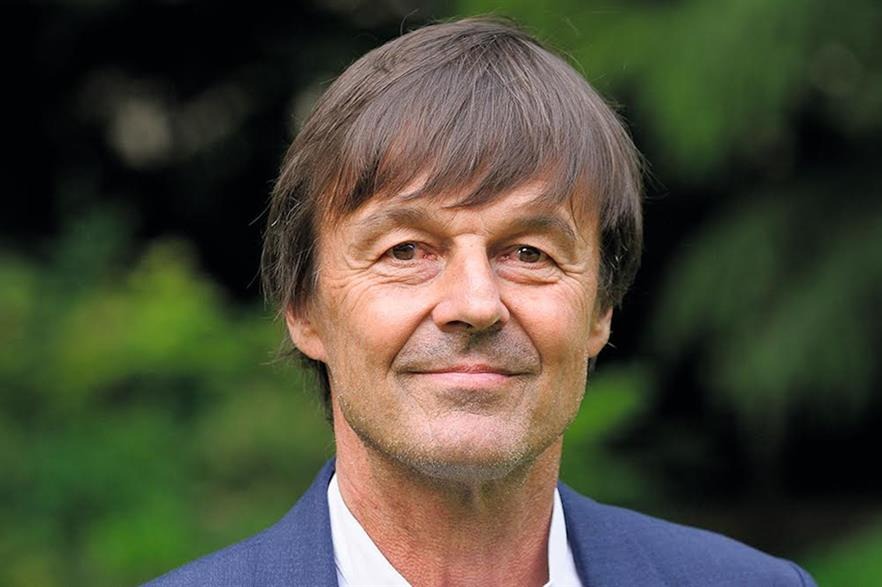 Nicolas Hulot announced his departure after the government vowed to relax hunting laws (pic: Arnaud Bouissou / Terra)