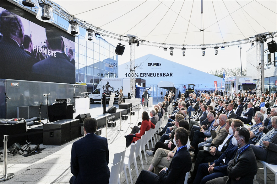 The wind power industry is gathering at the Husum Wind 2021 event in northern Germany this week (pic credit: Husum Messe Und Congress)
