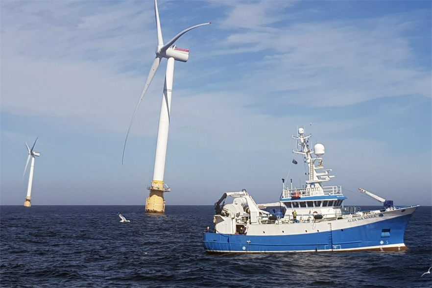 The UK is home to Equinor's Hywind Scotland floating offshore wind farm
