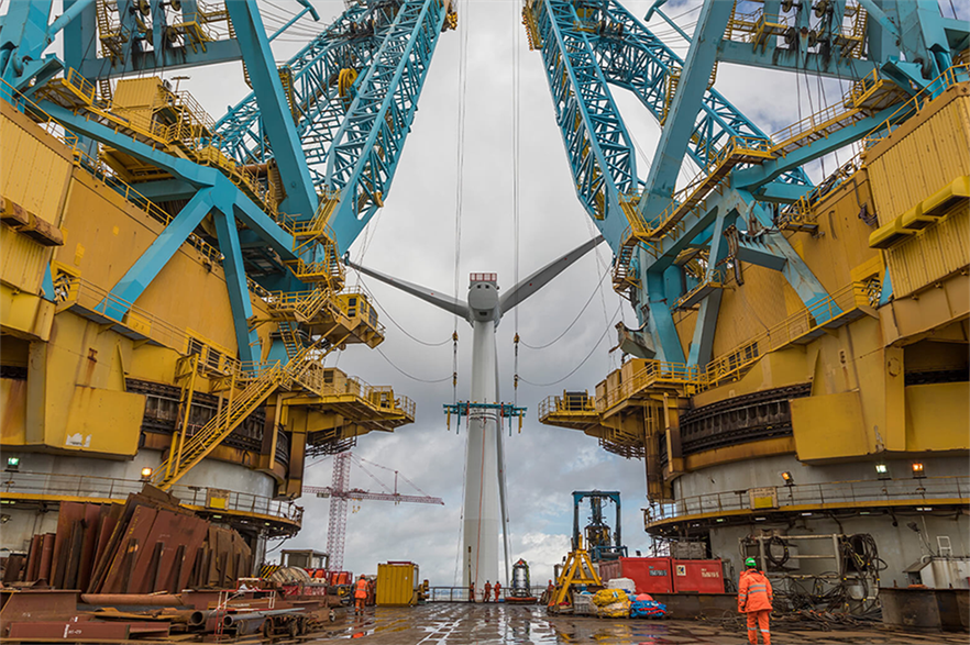 Equinor's 30MW Hywind Scotland floating offshore wind farm was installed with the help of oil and gas contractor Saipem